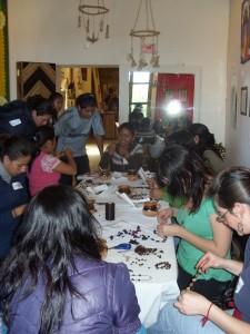 Au Mexique, le Voyage humain travaille en lien avec des artisans locaux