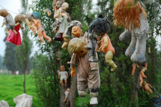 Les poupées de l'Isla de la Munecas