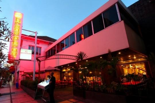 Façade du restaurant Braga Permai