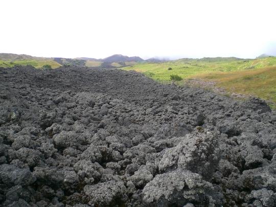 Coulée de lave datant de 1999