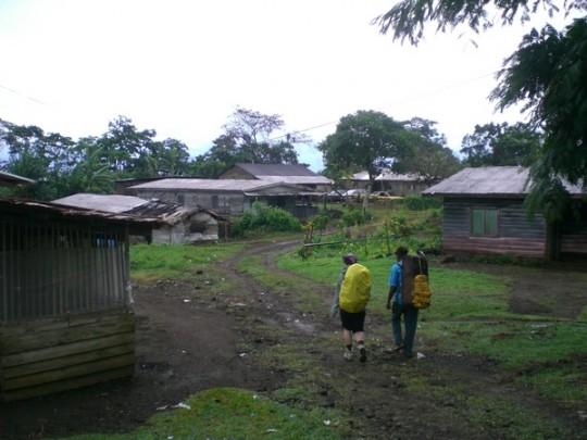 Départ depuis Bokwango