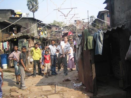 """Dharavi, """"slum"""" de Bombay"""