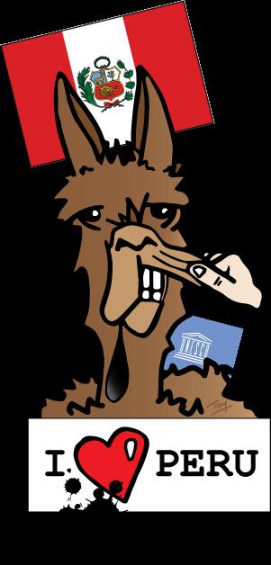 Le lama se sent molesté ou quand le lama prend cher !
