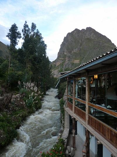 Très belle vue du restaurant d'Ollantaytambo ! C'est pour compenser le repas ?