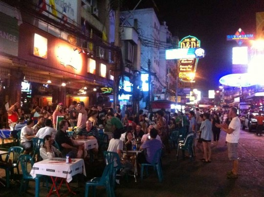 Khao San Road, un soir de la semaine