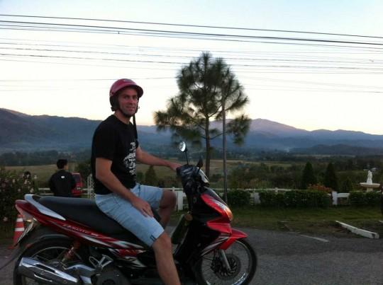 Sur les hauteurs de Pai, nord de la Thaïlande