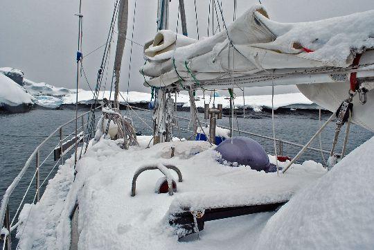 Antarctique au petit matin