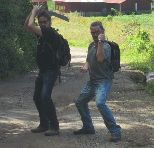 Tel des ninjas, les Voyageurs du Net ne reculeront jamais face à l'adversité