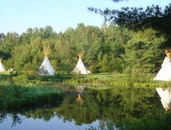 Vivre au rythme des Amérindiens du Canada