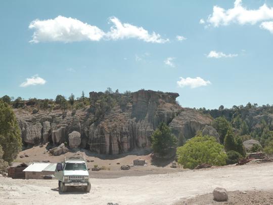 Grottes de San Sebastian, à l'entrée de parc Arareko