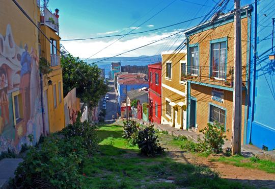 Une vue du cerro Concepción