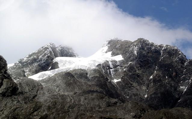 Vue sur le sommet du Mont Stanley