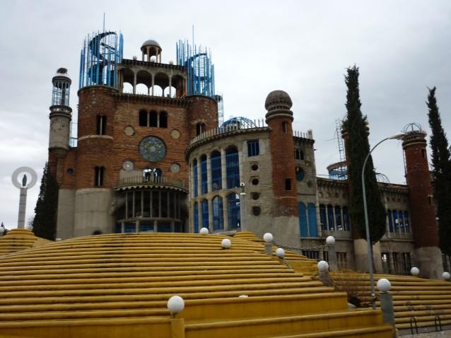 Cathedralede Justo Gallego, vue de face
