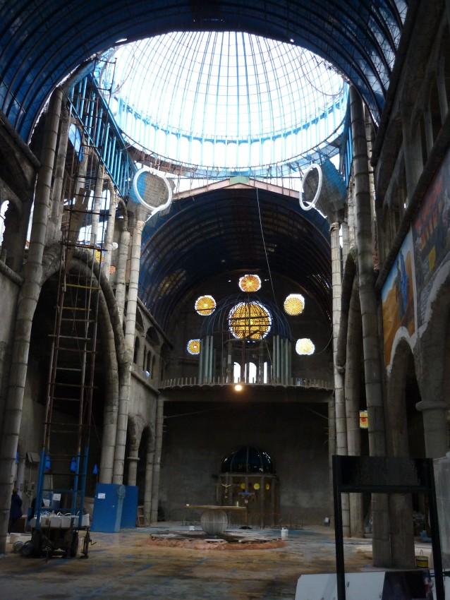Cathedrale de Justo Gallego, vue intérieure