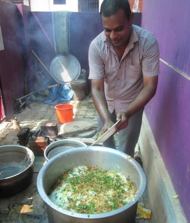 mutton biryani plat celebrations