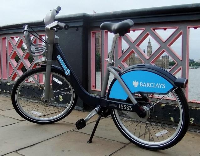 Vélo Barclays à Londres