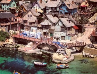 Un parc d'attraction insolite : le village de Popeye