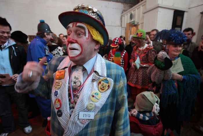 Clown Church Service - London