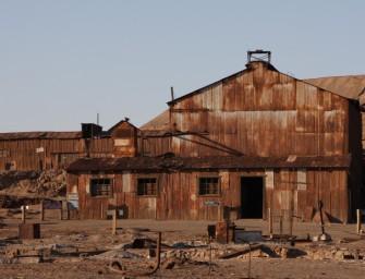 Humberstone et Santa Laura, les villes fantômes des mineurs de nitrate