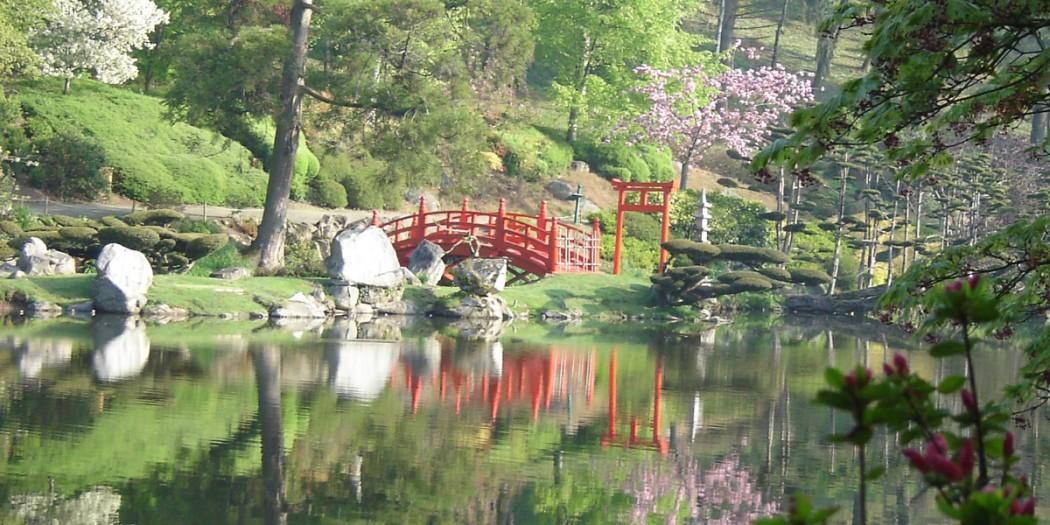 Le Parc Oriental De Maul Vier Le Parc Japonais Le Plus