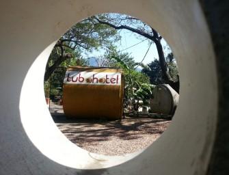 El Tubohotel de Tepoztlán : oserez-vous dormir dans des tubes de canalisation ?