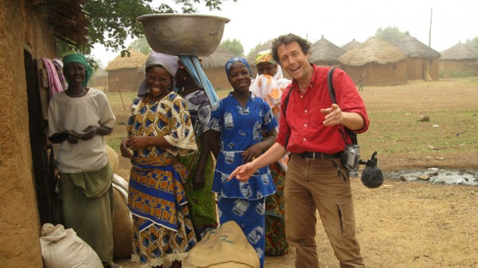Antoine de Maximy au Ghana (crédit : France 5.fr)