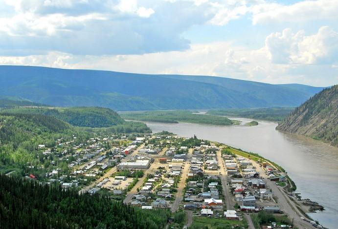 Dawson City en juin 2007. Photo de Michael Edwards (Commons Wikimedia)