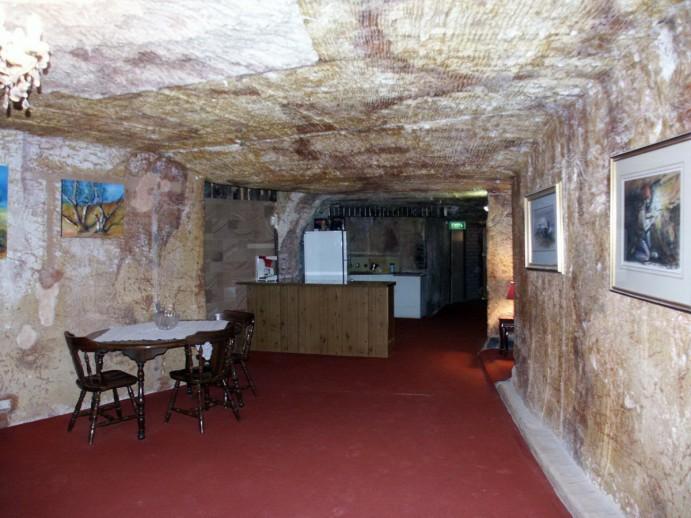 Coober Pedy, une maison souterraine (Nachoman, Commons Wikimedia)