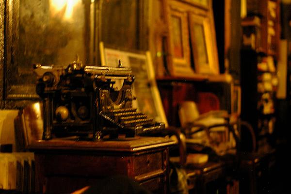 Machine à écrire de Bram Stoker, auteur de Dracula.