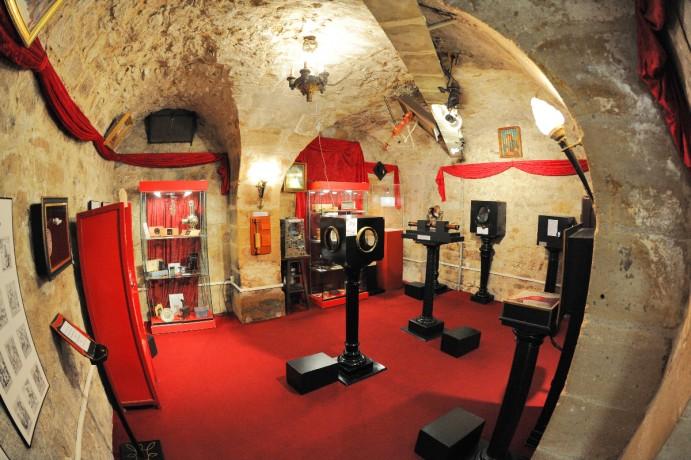 Musée de la Magie-salle illusions optique
