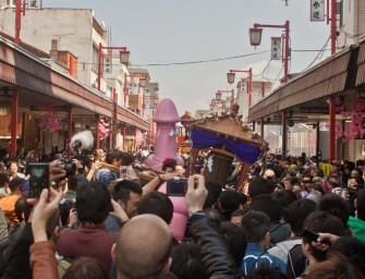 Défilés de pénis géants, au Japon : le festival de la fertilité (Kanamara Matsuri)