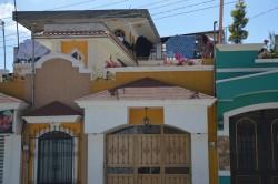 Exemple d'une demeure construite grâce à l'émigration aux États-Unis