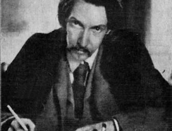 Robert Louis Stevenson par Lloyd Osbourne (Project Gutenberg-Commons Wikimedia)