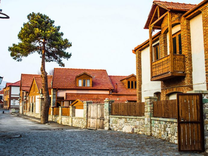 Une rue de Mtskheta.