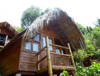 Lac Atitlan : la Isla Verde, hôtel écologique (01). Crédit : Mikaël Faujour