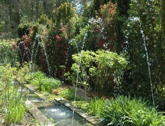 Paresse et contemplation au Parc botanique de Haute-Bretagne, à Fougères