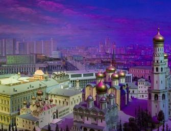 Diorama : le Moscou de 1977 figé en miniature